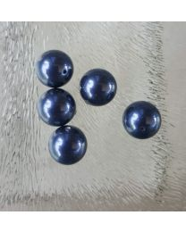 Swarovski parels 10 mm night blue, per stuk